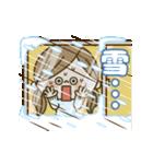 動く!かわいい主婦の1日【冬編】(個別スタンプ:10)