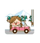 動く!かわいい主婦の1日【冬編】(個別スタンプ:12)