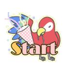 2017年 新年☆色鳥どりスタンプ☆(個別スタンプ:02)