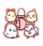 2017年 新年☆色鳥どりスタンプ☆(個別スタンプ:03)