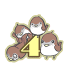 2017年 新年☆色鳥どりスタンプ☆(個別スタンプ:04)