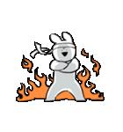 すこぶる動くウサギ6(個別スタンプ:3)