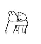 すこぶる動くウサギ6(個別スタンプ:6)