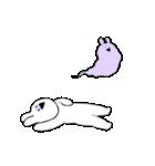 すこぶる動くウサギ6(個別スタンプ:12)