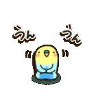 冬・インコちゃん(個別スタンプ:26)