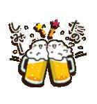 冬・インコちゃん(個別スタンプ:33)