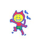 スーパーネコ・このドロボウネコ・鬼ネコ(個別スタンプ:27)