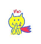 スーパーネコ・このドロボウネコ・鬼ネコ(個別スタンプ:35)