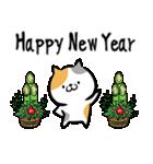 筆猫のお正月(個別スタンプ:11)