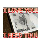お金のスタンプ1♪40個入り♪(個別スタンプ:25)
