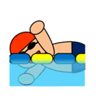 子供のスポーツクラブ(体操,サッカー,水泳)(個別スタンプ:23)