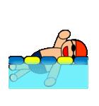 子供のスポーツクラブ(体操,サッカー,水泳)(個別スタンプ:24)