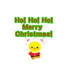 動くひよこのぴよちゃんクリスマス&お正月(個別スタンプ:04)