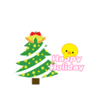 動くひよこのぴよちゃんクリスマス&お正月(個別スタンプ:08)