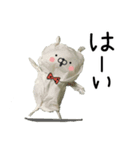 ティッシュDEうさぎ(個別スタンプ:03)