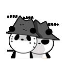 帽子パンダwith Friend(個別スタンプ:13)