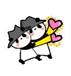 帽子パンダwith Friend(個別スタンプ:14)