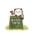 大人かわいい♪パンダねこ 敬語(個別スタンプ:3)