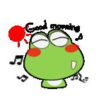 雨の日は、カエルさん(個別スタンプ:01)