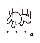 シロウサギのミミ 日常編(個別スタンプ:20)