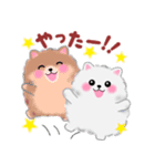 ポメラニアン☆ぽちゃんの日常会話(個別スタンプ:24)