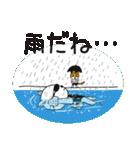 水泳女子のためのスタンプ、その4(個別スタンプ:9)