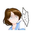 夏服ポニテJKちゃん(個別スタンプ:31)