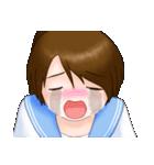 夏服ポニテJKちゃん(個別スタンプ:32)