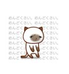 乾いた目をしている猫(個別スタンプ:34)