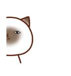 乾いた目をしている猫(個別スタンプ:35)