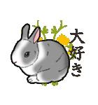 もふもふウサギ 2(個別スタンプ:8)