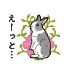 もふもふウサギ 2(個別スタンプ:21)
