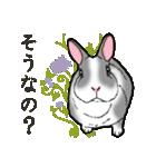 もふもふウサギ 2(個別スタンプ:22)