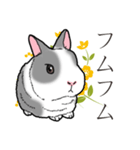 もふもふウサギ 2(個別スタンプ:24)