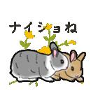 もふもふウサギ 2(個別スタンプ:37)