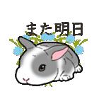 もふもふウサギ 2(個別スタンプ:40)