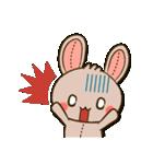 縫い目ウサギの日常会話(個別スタンプ:08)