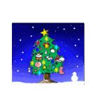 動く2017年末年始 クリスマス~成人式まで(個別スタンプ:01)