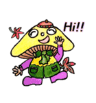 かわいいきのこ達~秋バージョン~(個別スタンプ:06)