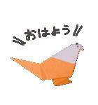 おりがみスタンプ(個別スタンプ:07)