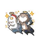 動く!柴さんと手羽崎さん(個別スタンプ:08)