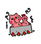 可愛い鳥と豚カップル(個別スタンプ:02)
