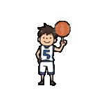 Do your best. バスケットボール部(個別スタンプ:01)
