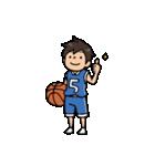 Do your best. バスケットボール部(個別スタンプ:02)