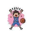 Do your best. バスケットボール部(個別スタンプ:04)