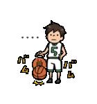 Do your best. バスケットボール部(個別スタンプ:05)