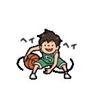 Do your best. バスケットボール部(個別スタンプ:06)