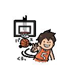 Do your best. バスケットボール部(個別スタンプ:27)