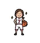 Do your best. バスケットボール部(個別スタンプ:33)