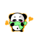 【動く】パンダの日常会話(個別スタンプ:10)